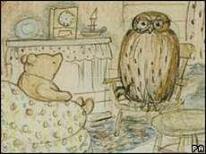 Pooh visits Owl