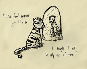 Tigger mirror
