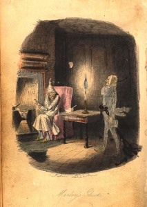 John Leech illustration from A Christmas Carol by Charles Dickens