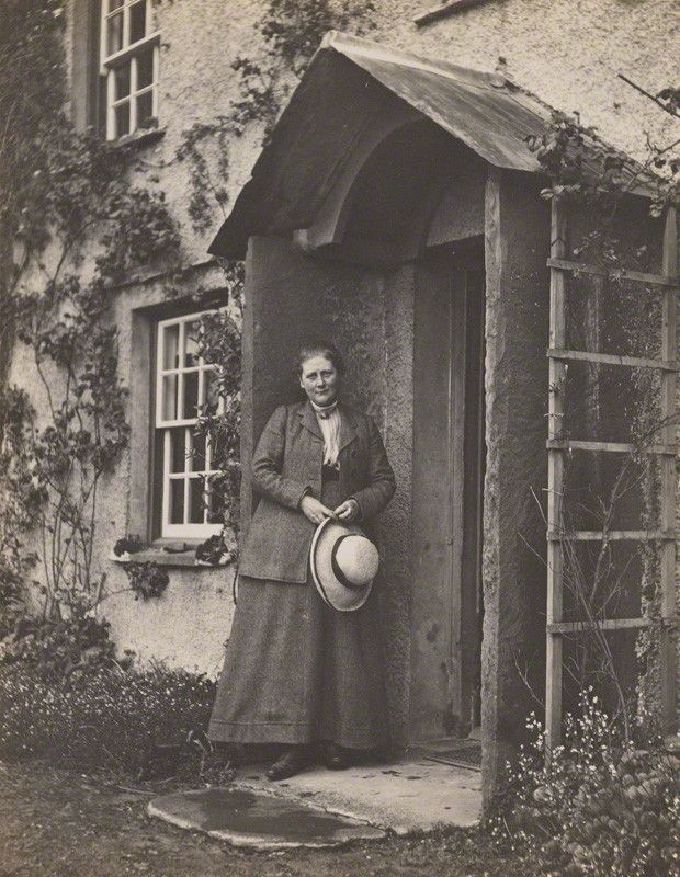 NPG P1825; Beatrix Potter (Mrs Heelis) by Charles King