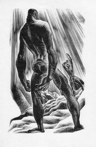 Frankenstein illust Lynd Ward