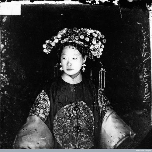 Manchu Bride by John Thomson