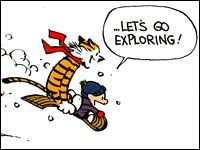 Calvin Hobbes last strip