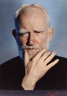 NPG P871(5); George Bernard Shaw by Madame Yevonde
