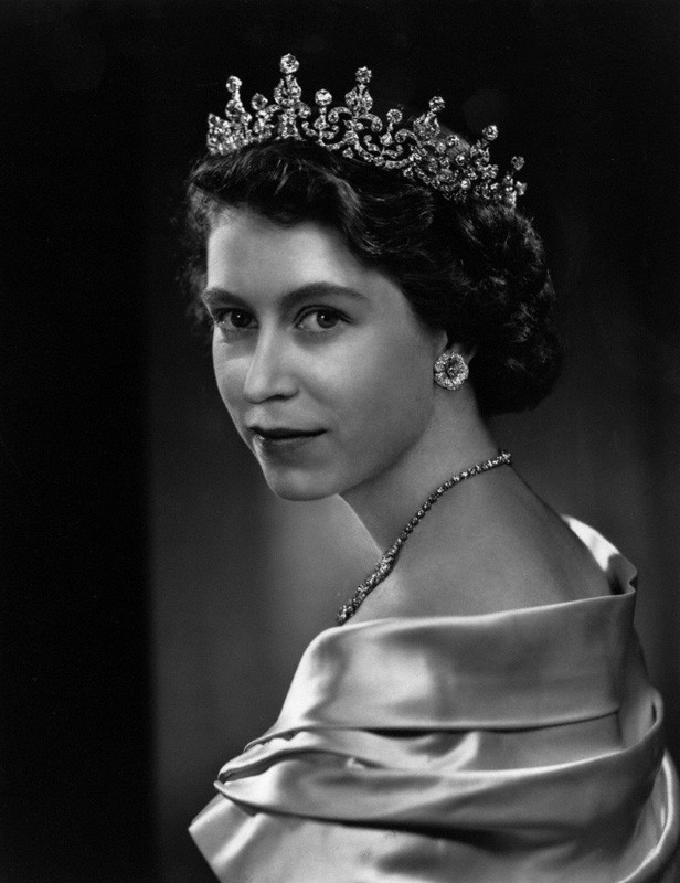 Queen Elizabeth II by Yousuf Karsh 1951