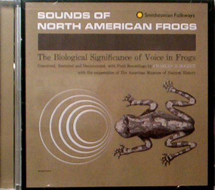 Sound of North American Frogs