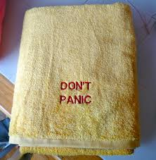 Dont Panic Towel