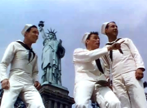 NewYork NewYork still with Sinatra-Kelly-Munshin