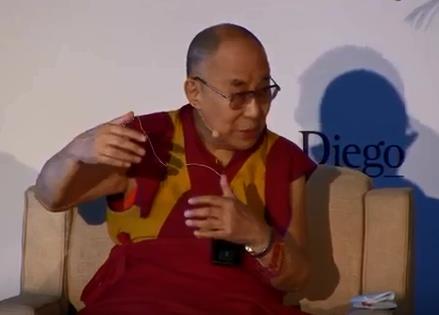 The Dalai Lama, 2017
