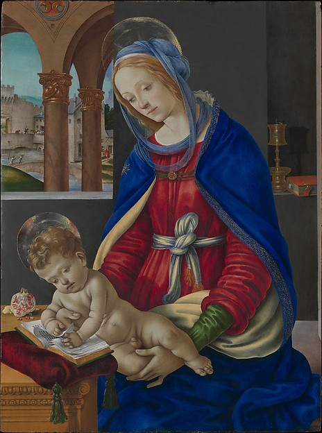 Lippi Madonna + Child Met