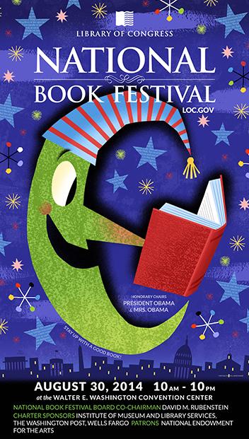 2014 Poster for National Book Festival