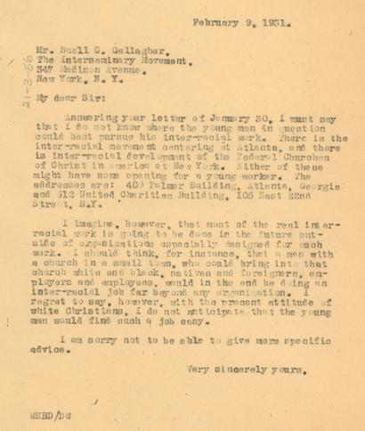 DuBois letter