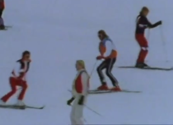 ABBA on skis Switzerland
