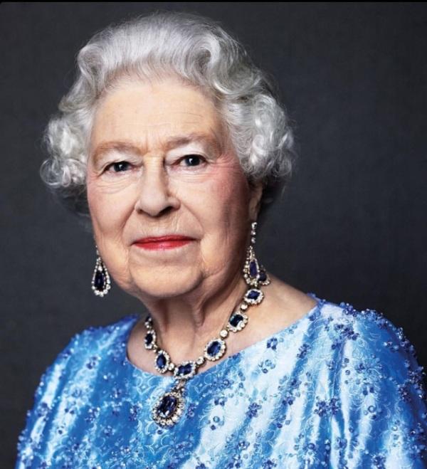Queen Elizabeth 2014 by David Bailey